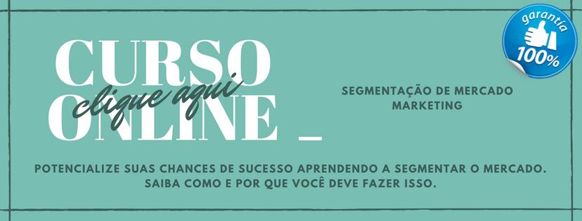 banner apresentação curso online Segmentação de Mercado