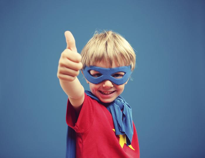 Texto de motivação : você super herói